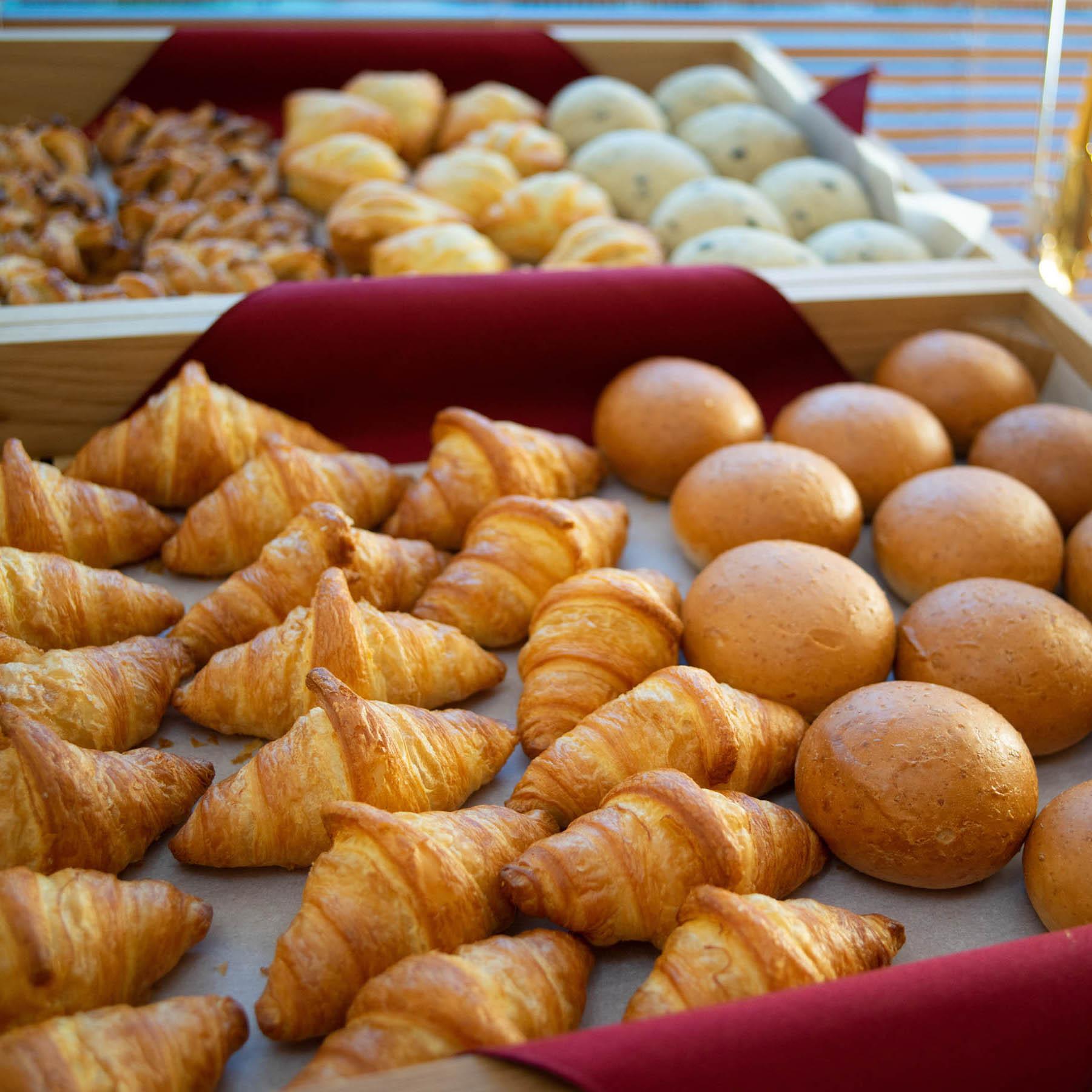 ★当館のパンは当日、館内で焼いたものを提供しております!
