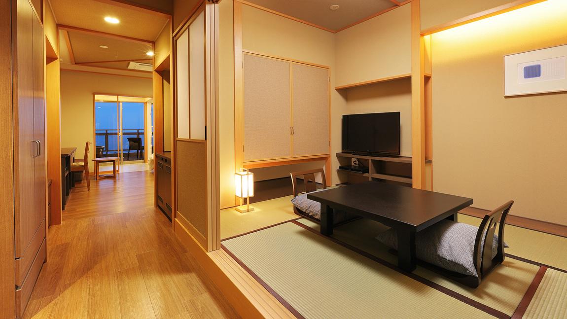 ユニバーサルルーム和洋室の和室部分
