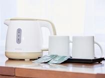 客室内アメニティー お茶セット(イメージ)