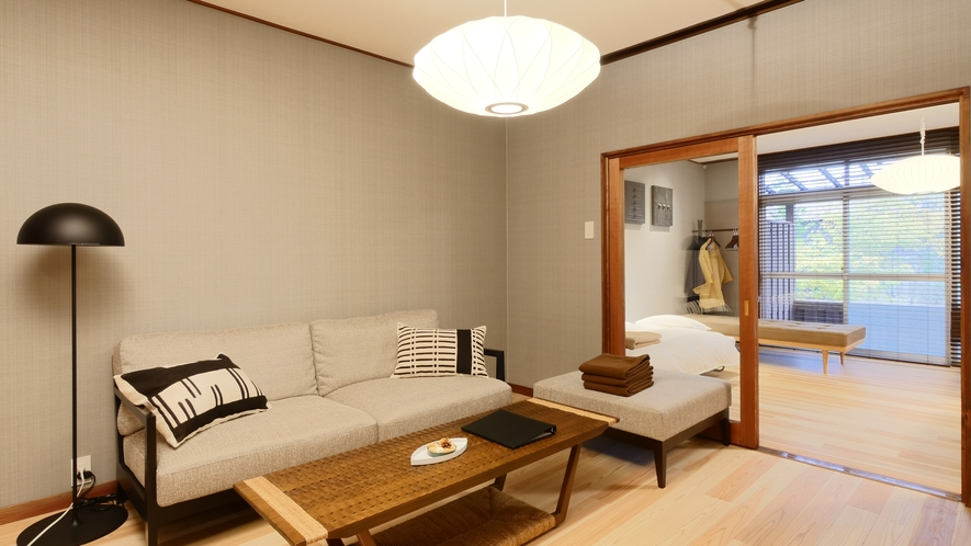 【VMGグランド・106】 離れとして昭和に増築されたお部屋はモダンな造りに。