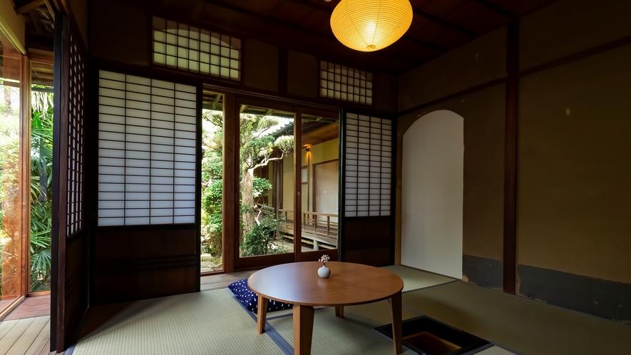 【VMGグランド・108】 茶室をリノベートしたお部屋。