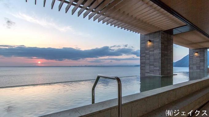 【スタンダード1泊2食】部屋はオーシャンフロントの絶景&インフィニティ露天風呂に癒される宿泊プラン