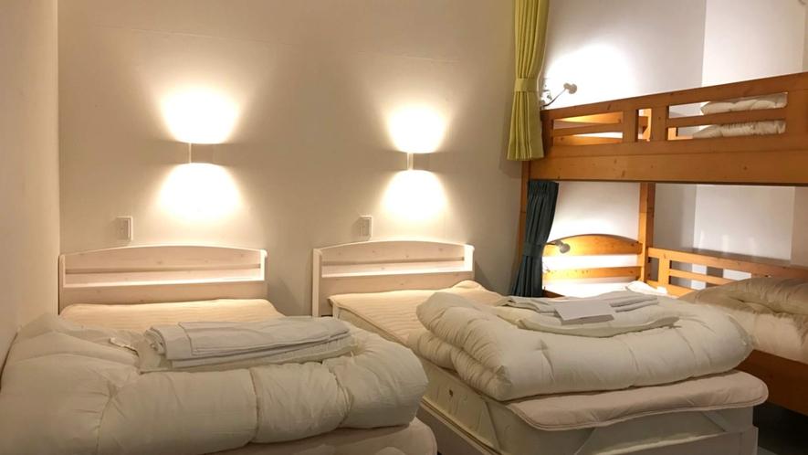 ・<一室貸切ファミリールーム>ご家族やカップルに最適です