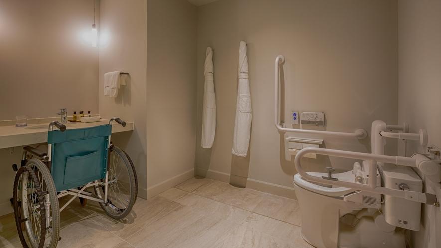 【ベイサイド】スーペリアルーム(イージーアクセス) お部屋は室内の段差をなくしております。