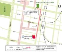 宿泊施設地図