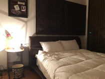 寝室(2)ダブルルーム