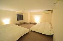 602ロフトの主寝室