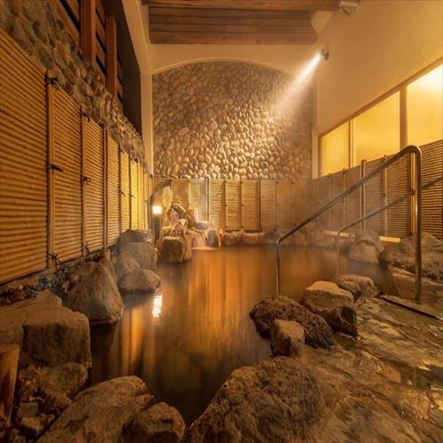 温泉大浴場「岩風呂」