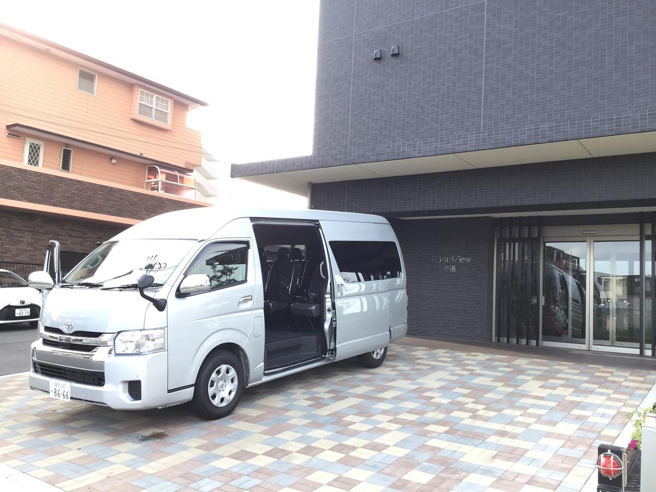 ホテル福岡空港送客バス