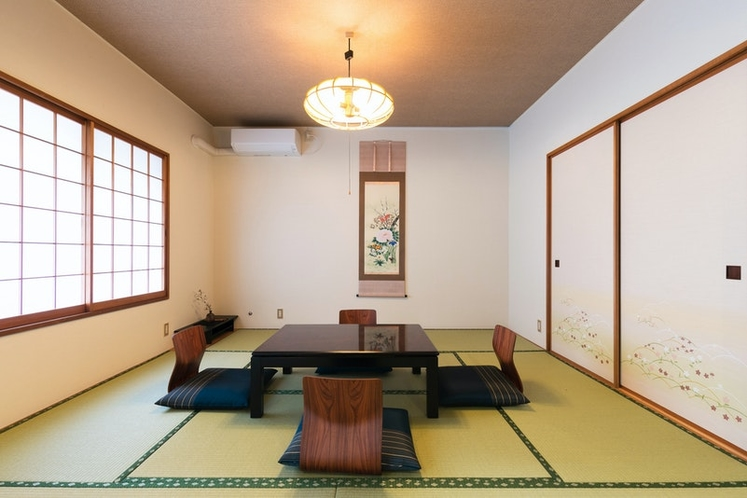 Tatami room next to the living room.