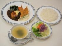 2食付プランのご夕食(洋食セット)