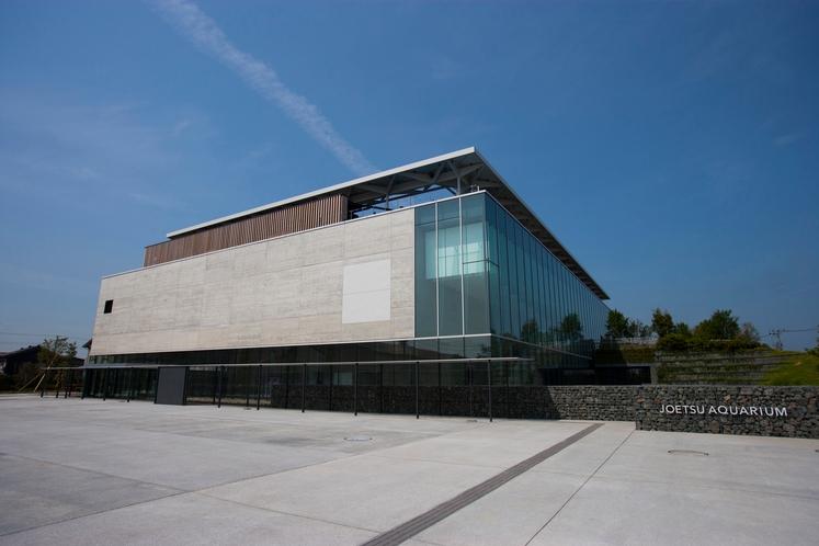 新水族館「うみがたり」外観