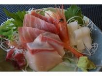 レストランメニュー(刺身盛り)
