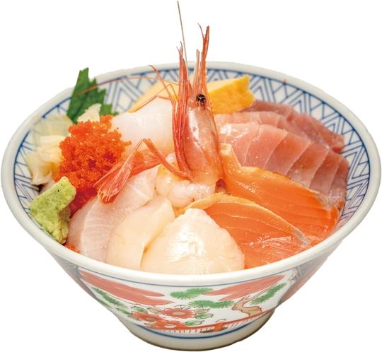 日本海の旬海鮮丼