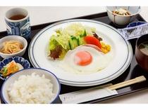 ご朝食(妙高矢代産コシヒカリを使用した和食セット)