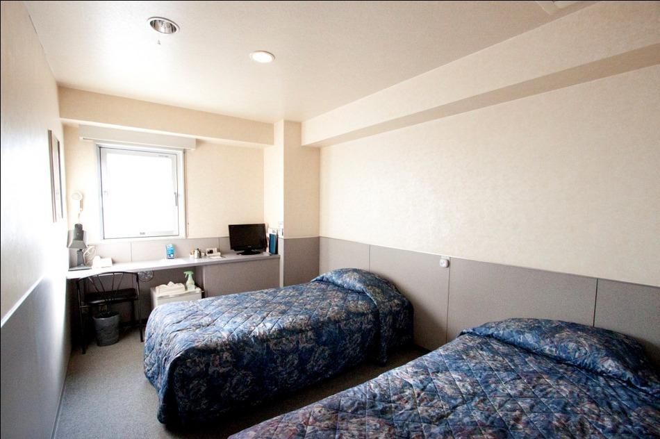 デラックスツインルーム。ご家族、カップルでのご宿泊に。