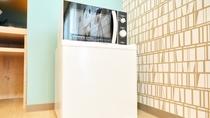 お買いものパンダルーム*電子レンジ&冷蔵庫