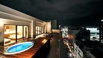 ・最上階スイート/那覇の夜景を眺めながらジャグジーをお楽しみいただけます