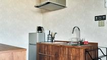 ・最上階スイート/長期滞在にも便利なキッチン付き