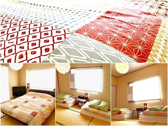 寝室2 お布団のみのお部屋となります。