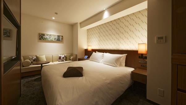【角部屋/優雅で贅沢に眠れる】フォルツァキングルーム2名利用