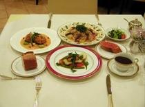 レストランディナー