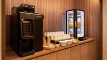 ブラッスリー&バー「ラ・ガレ」 ご朝食ドリンクカウンター