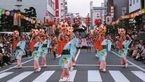 花笠祭り 毎年8月5日から7日の3日間