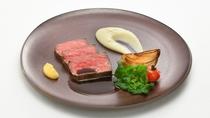 ブラッスリー&バー「ラ・ガレ」 山形牛サーロインのステーキ