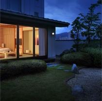 【禁煙】和洋室/21畳 日本庭園