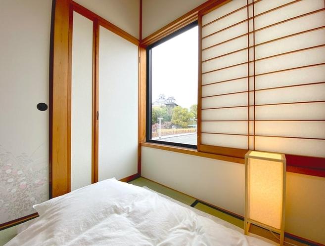 和室眺望、掛川城