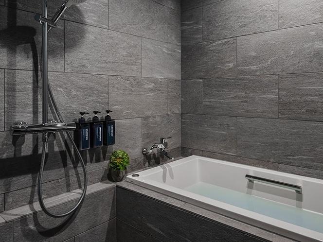 浴室(バスタブ、レインシャワー付き)