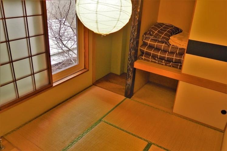 ベッドルーム1(和室) bed room 1 (Japanese style)