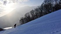 【下倉スキー場】岩手山の雄大な姿を正面から観ることができます。