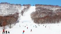 【下倉スキー場】天気のいい日に青と白の世界で楽しむスキーは格別です。