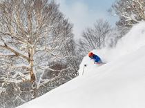 【下倉スキー場】上質なパウダースノーで冬のアクティビティをお楽しみください。