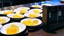 【あんしんブッフェ・ご朝食一例】フルーツ
