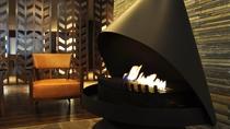 【ウェルカムロビー】暖かな暖炉