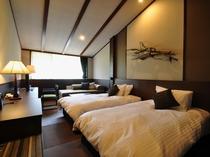 【マウンテンルーム】最上階の4階フロア 雄大な岩手山を望む眺望の良いお部屋です。