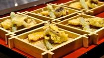 【あんしんブッフェ・お食事一例】季節の天ぷら盛り合わせ