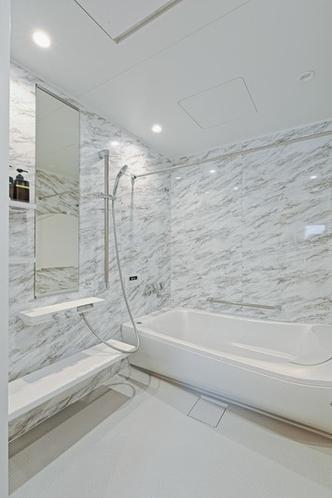 バスルーム-除菌水洗浄付