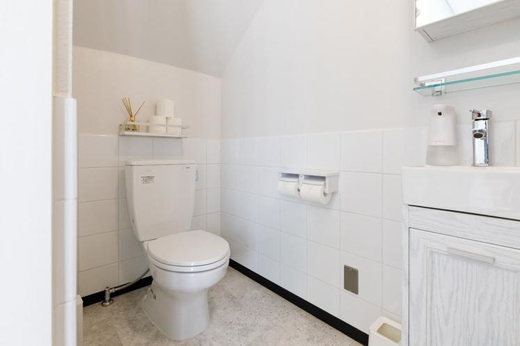 清潔なトイレとなっています