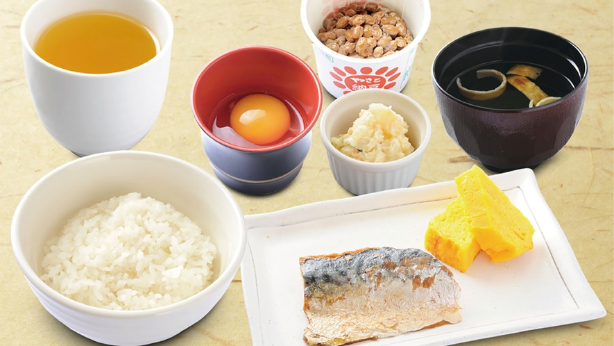 【朝食】館外レストラン
