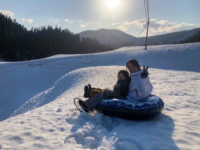 冬雪遊び体験4