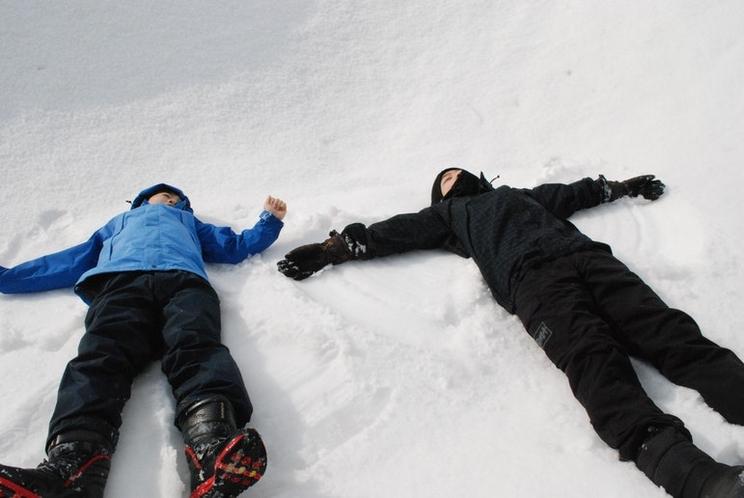 冬雪遊び体験2