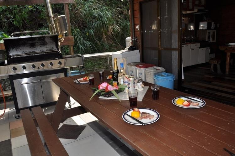 BBQデッキ(テーブル)