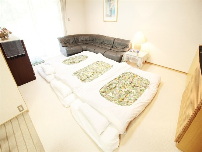 Futon style at living room