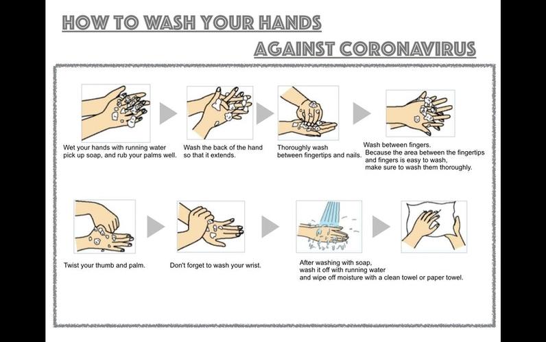 手洗い、うがいしっかり実施しましょう。