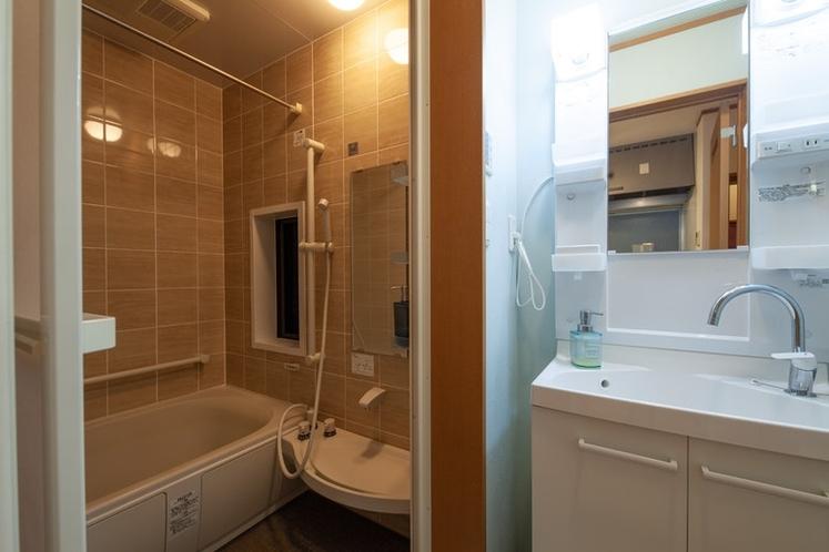浴室/洗面所です。