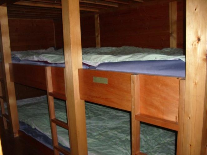 白雲荘:二段ベッド